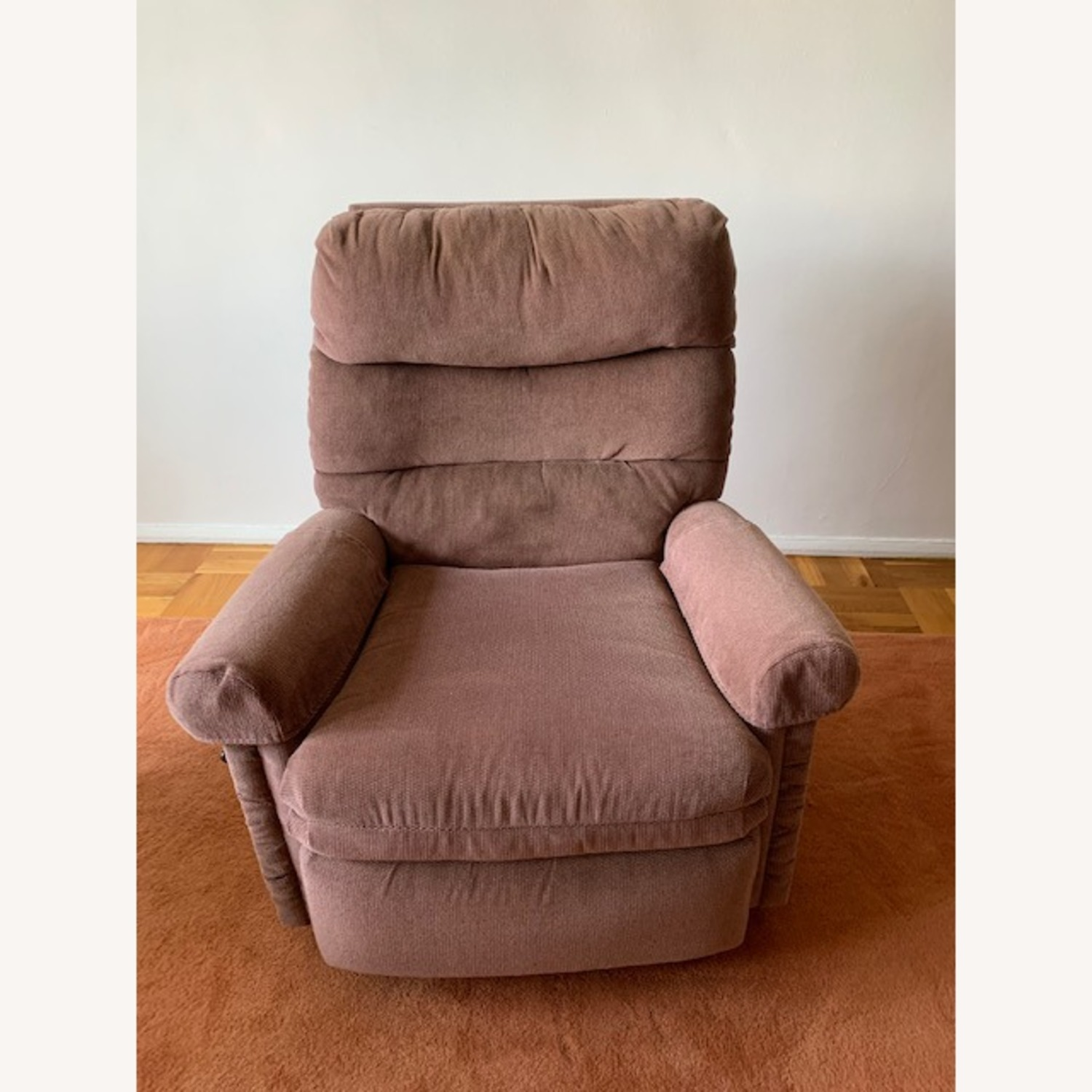 Fabric Armchair Recliner - image-7