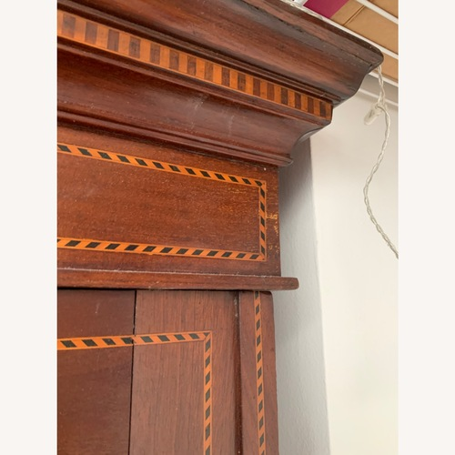 Used Antique Edwardian Triple Breakfront Wardrobe for sale on AptDeco