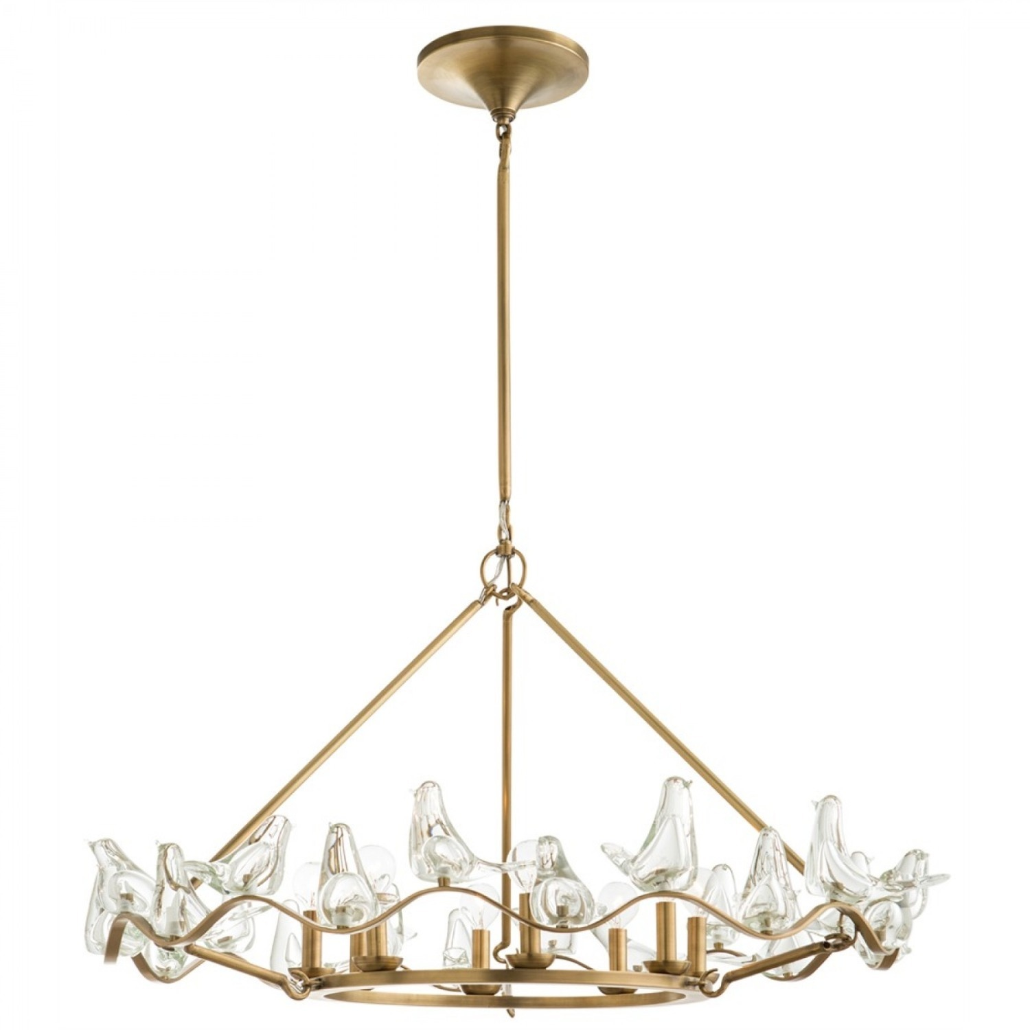 Arteriors Home Large Dove Chandelier - image-1