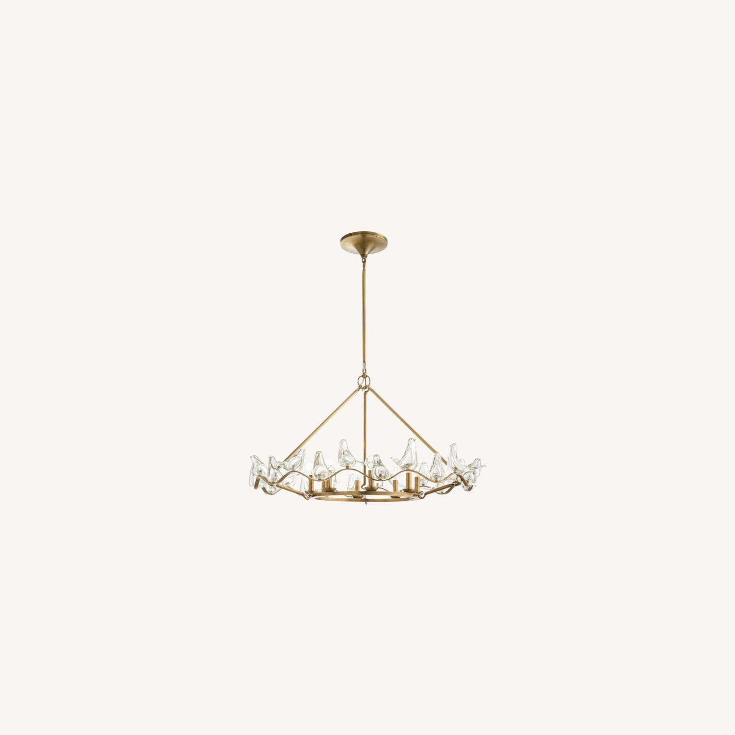 Arteriors Home Large Dove Chandelier - image-0