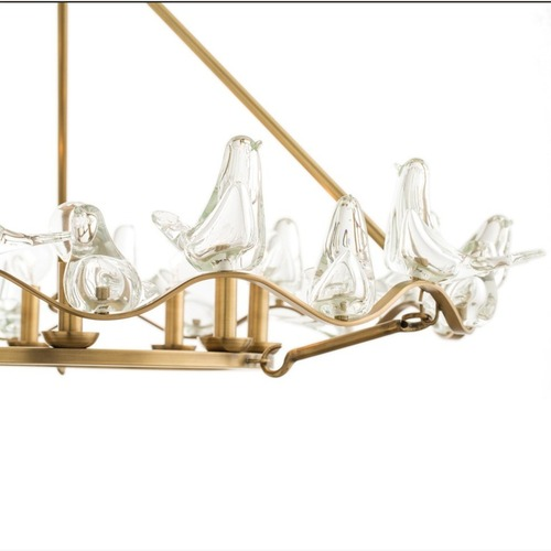 Used Arteriors Home Large Dove Chandelier for sale on AptDeco