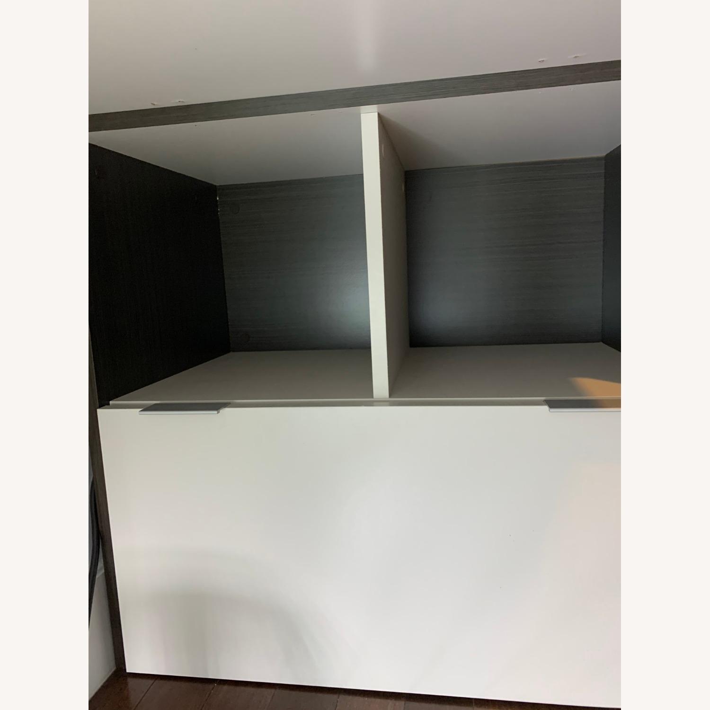Dark Wood Desk - image-4