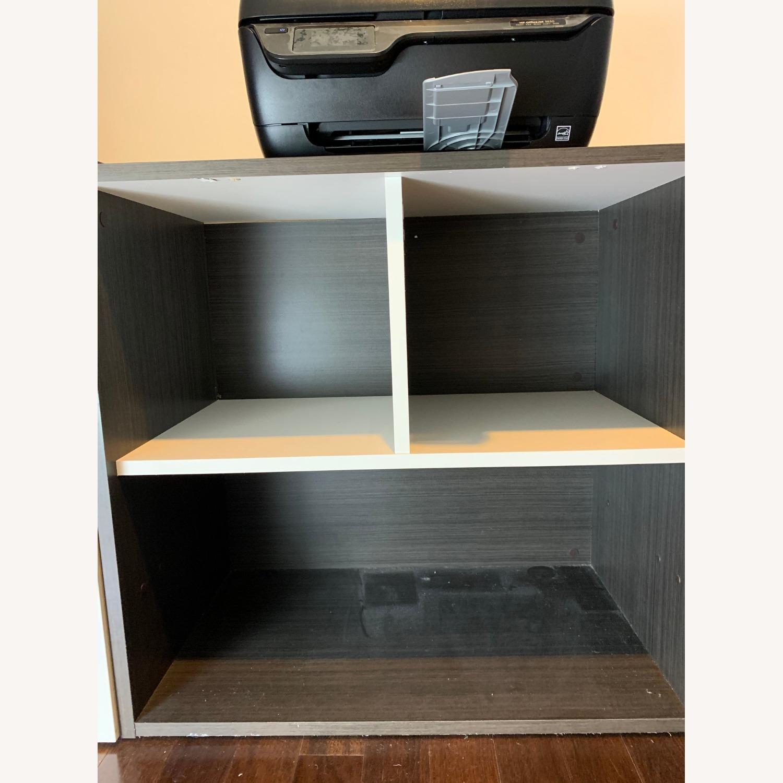 Dark Wood Desk - image-3