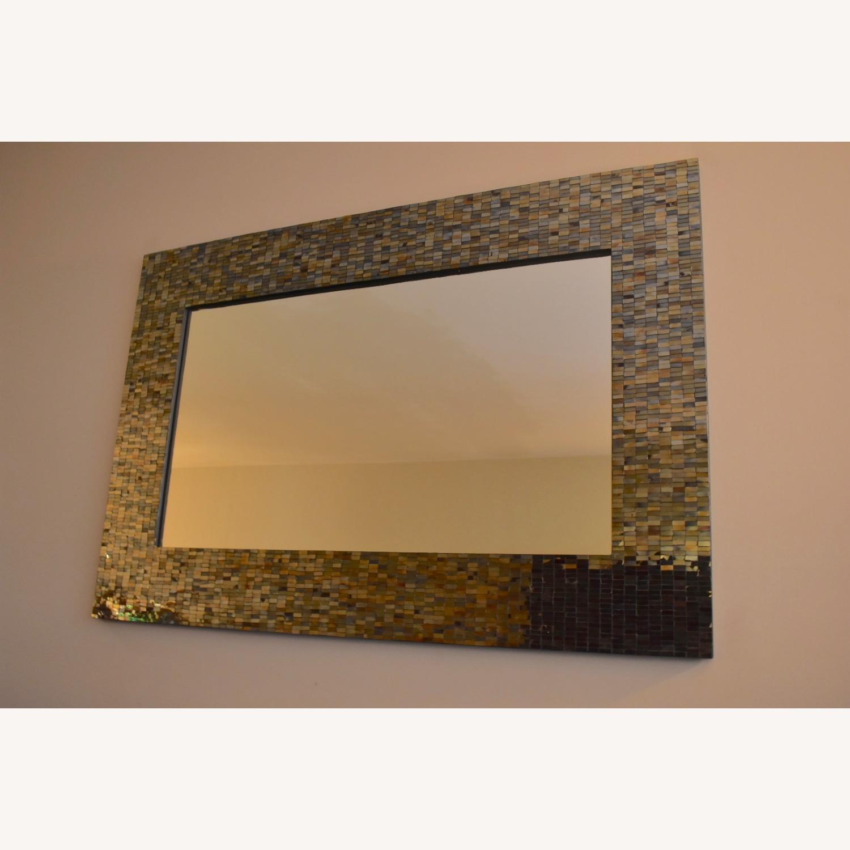 Mosaic Framed Mirror - image-1