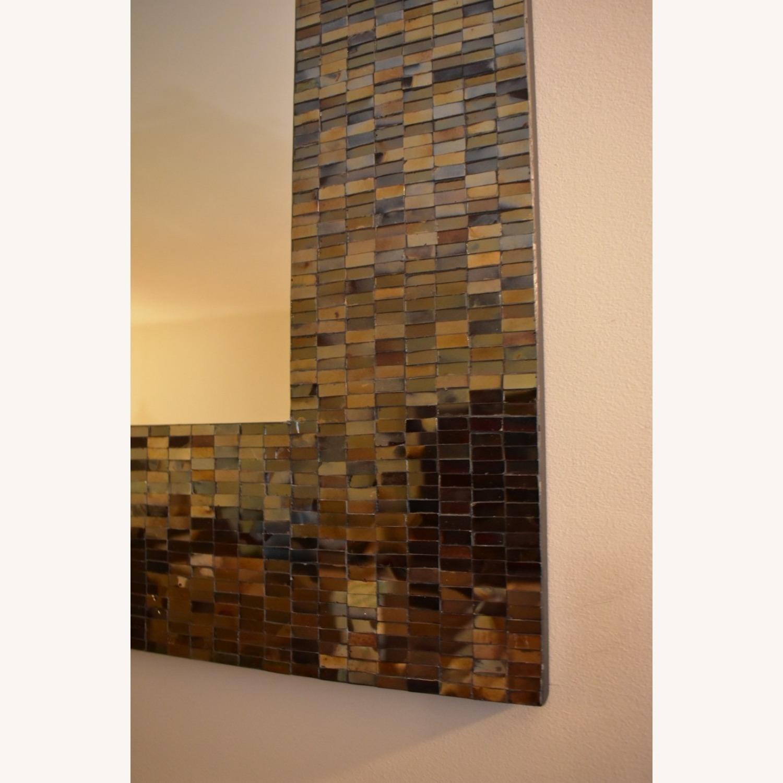 Mosaic Framed Mirror - image-3