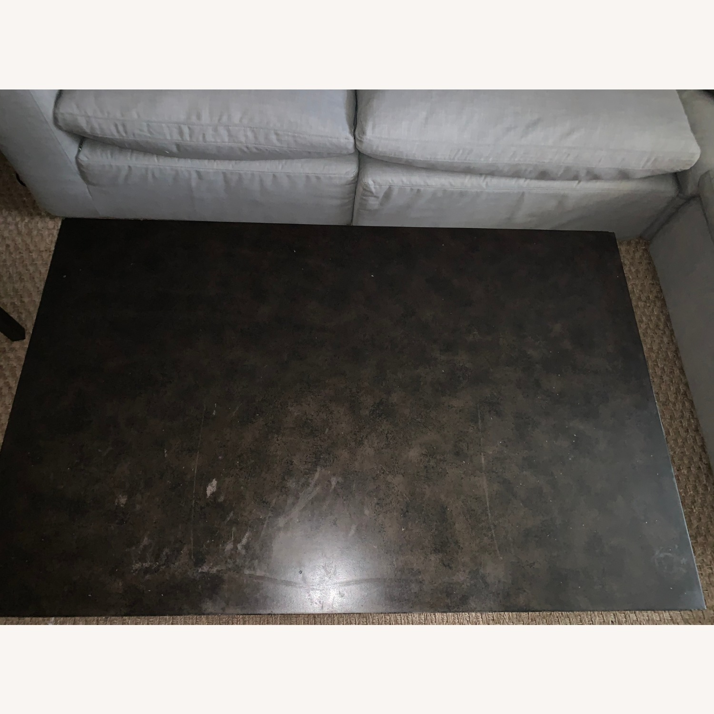 Restoration Hardware Blackend Rust Coffee Table - image-3