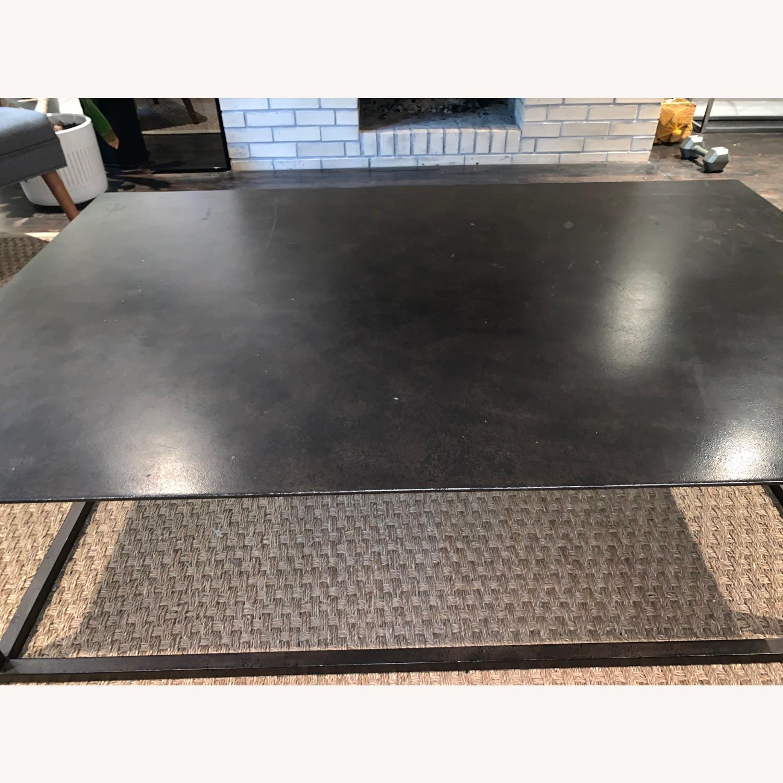 Restoration Hardware Blackend Rust Coffee Table - image-4