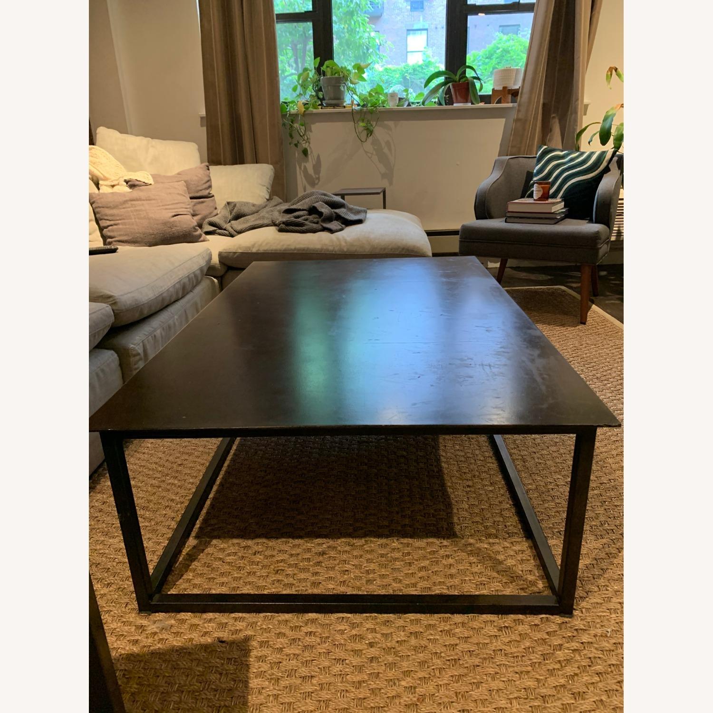 Restoration Hardware Blackend Rust Coffee Table - image-2