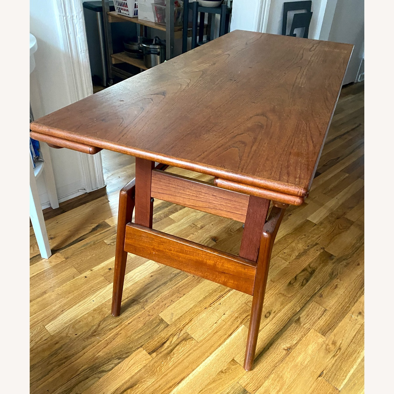 Metamorphic Danish Modern Coffee / Work Table - image-5