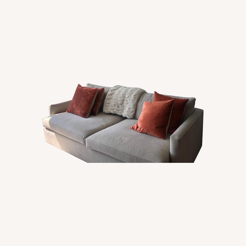 Crate & Barrel Lounge sofa - image-0