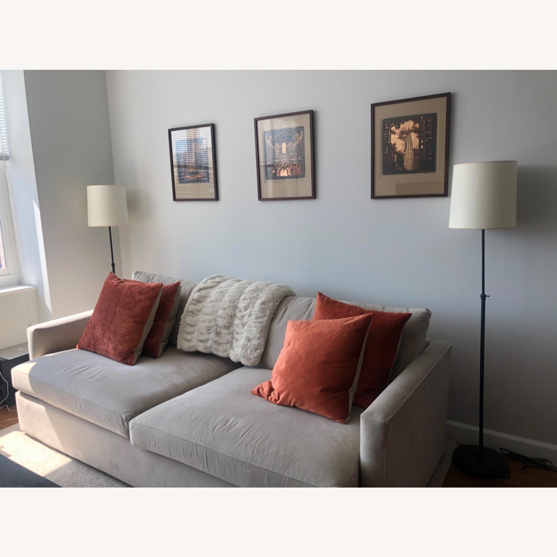 Crate & Barrel Lounge sofa - image-3