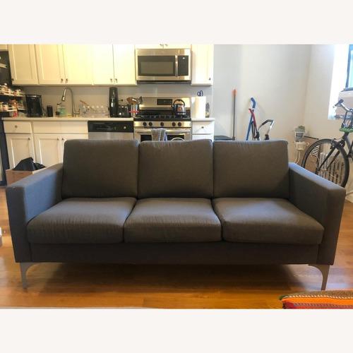 Used Wayfair Dar Grey Sofa for sale on AptDeco