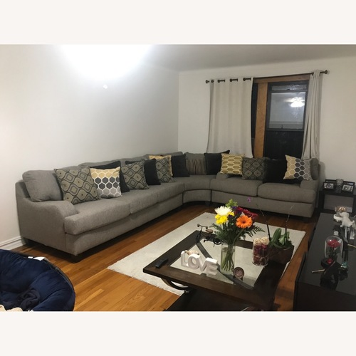 Used 3 Peice Sofa Set, Pillows Included for sale on AptDeco
