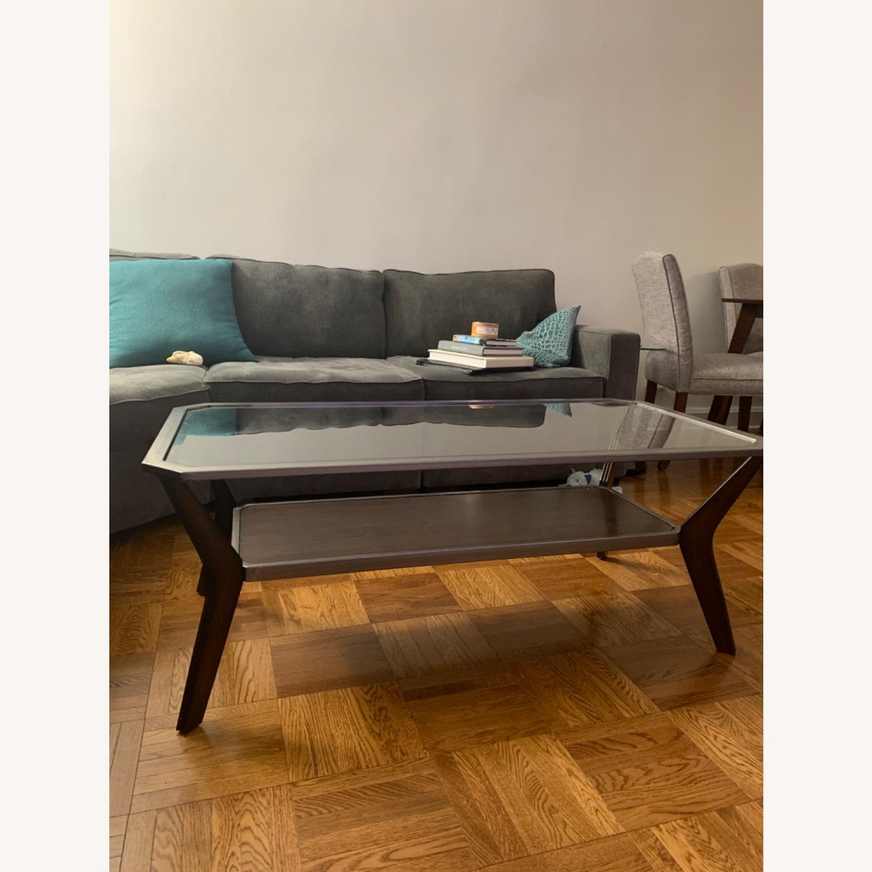 Glass Top Coffee Table - image-0