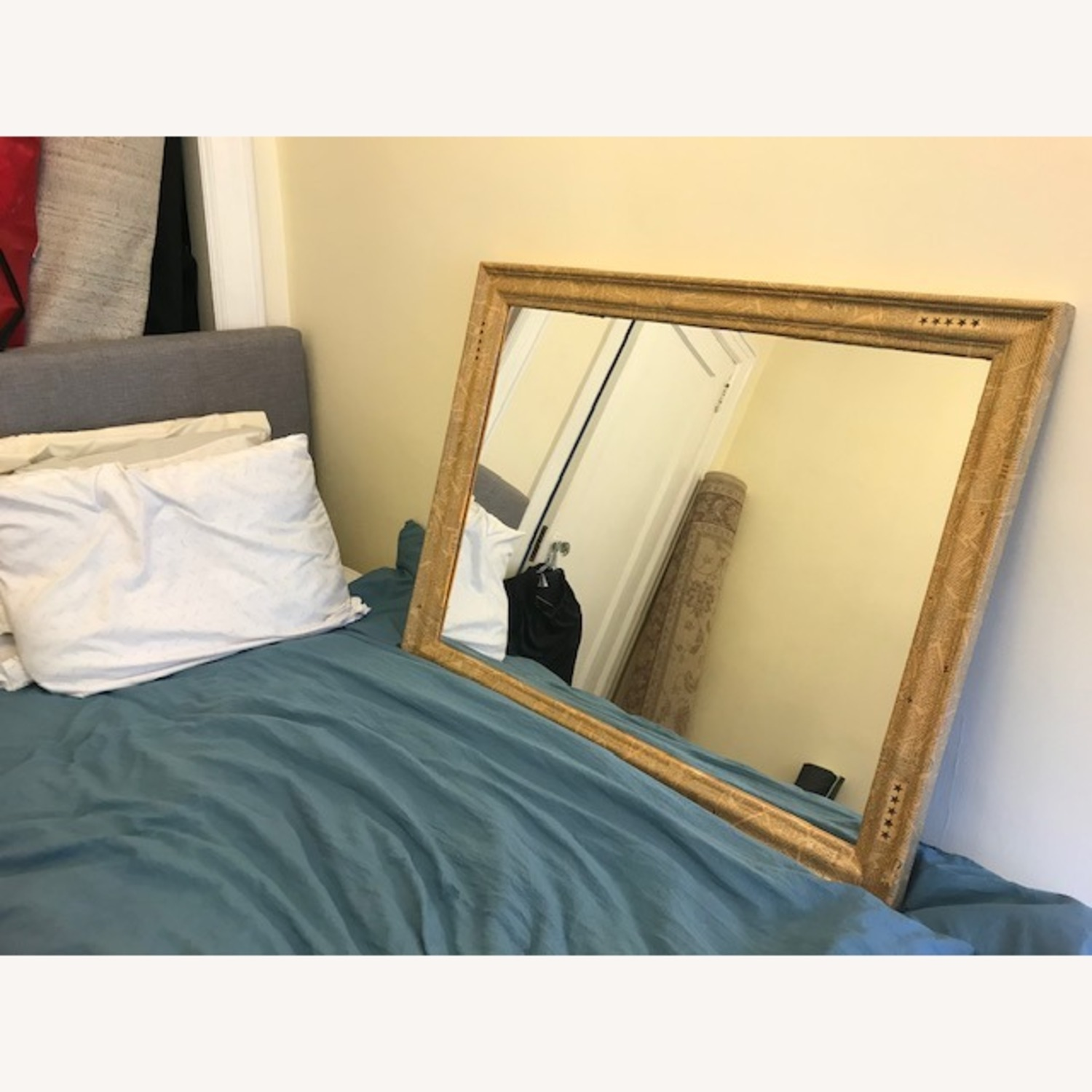 Mirror with Antique-style Frame - image-1