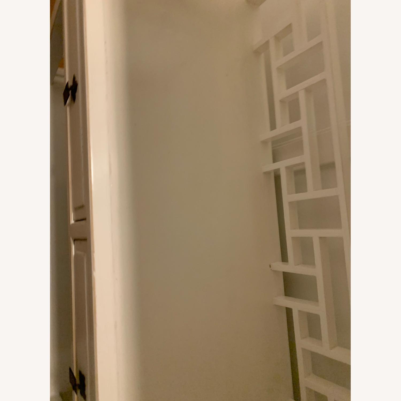 White Wooden Antique Style Bookshelf - image-6