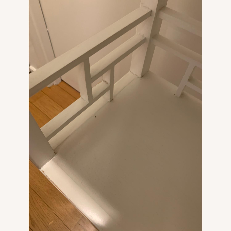 White Wooden Antique Style Bookshelf - image-5