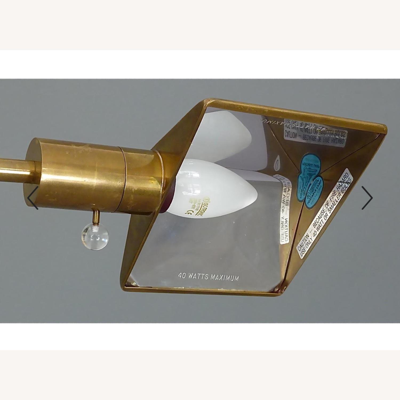 Cedric Hartman Brass & Chrome Reading Lamp - image-4