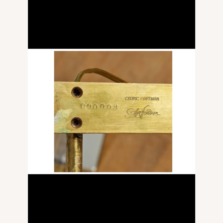 Cedric Hartman Brass & Chrome Reading Lamp - image-5