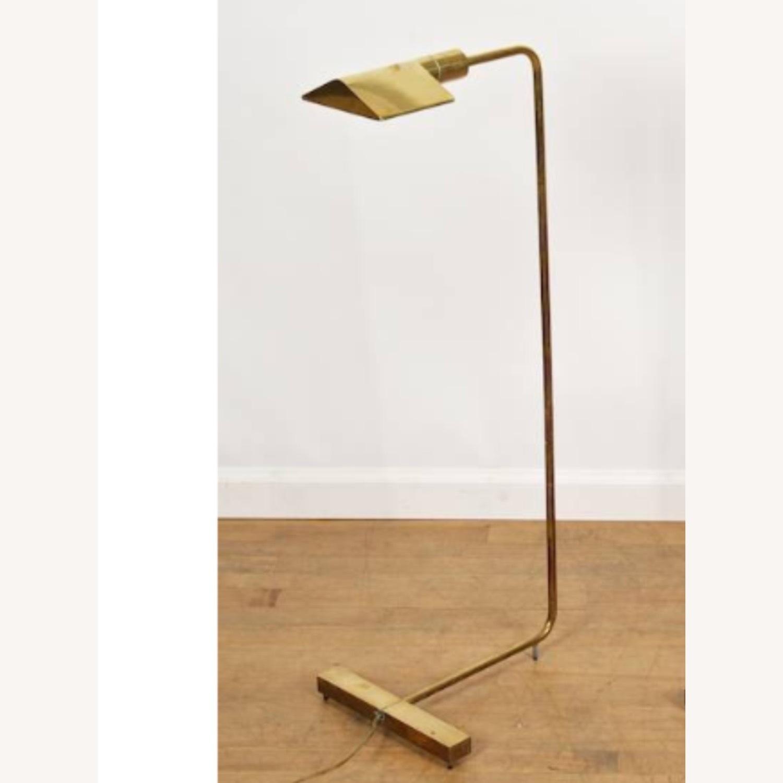 Cedric Hartman Brass & Chrome Reading Lamp - image-1