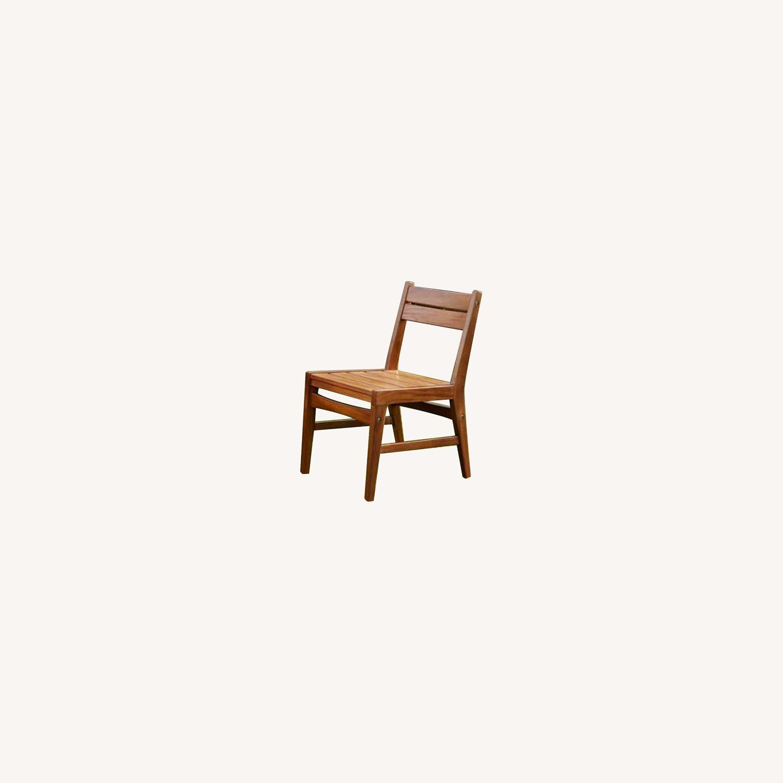 West Elm Indoor/Outdoor Chairs (set of 2) - image-0