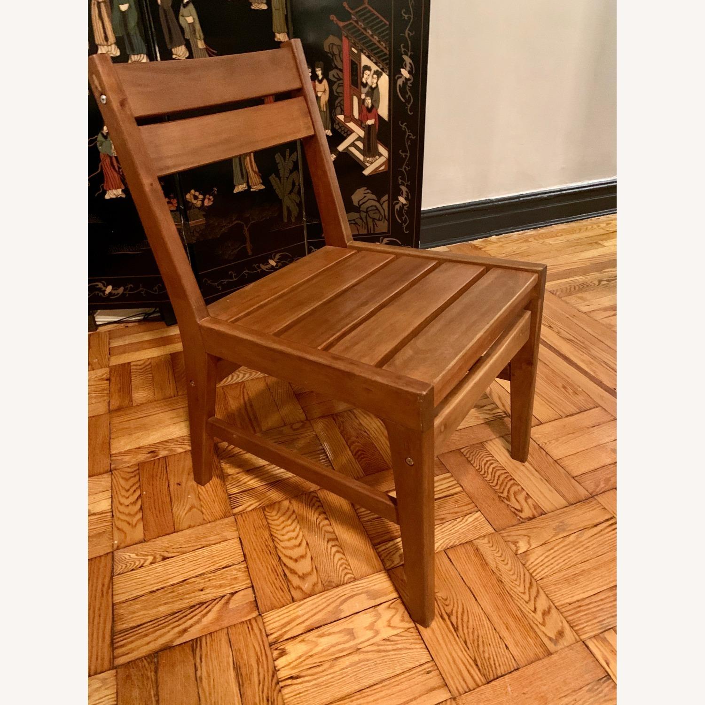 West Elm Indoor/Outdoor Chairs (set of 2) - image-5