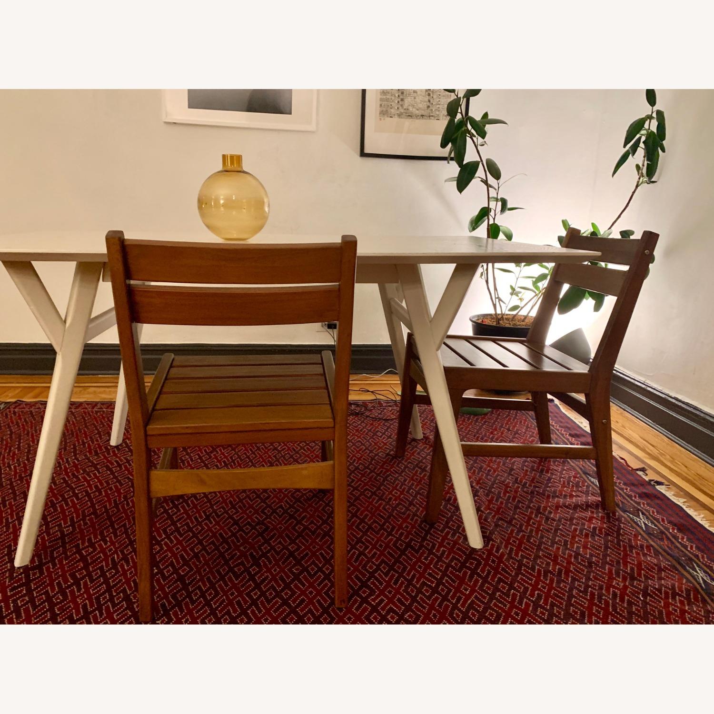 West Elm Indoor/Outdoor Chairs (set of 2) - image-2