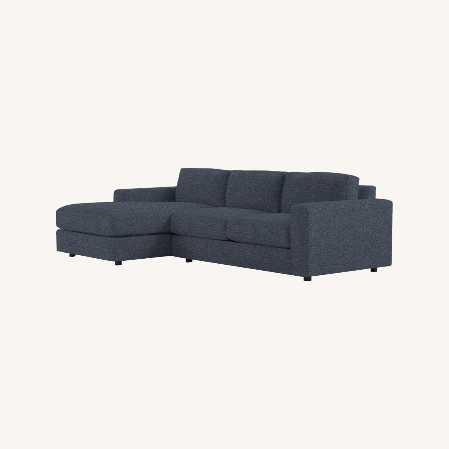 West Elm Urban 2-Piece Chaise Sectional - image-0
