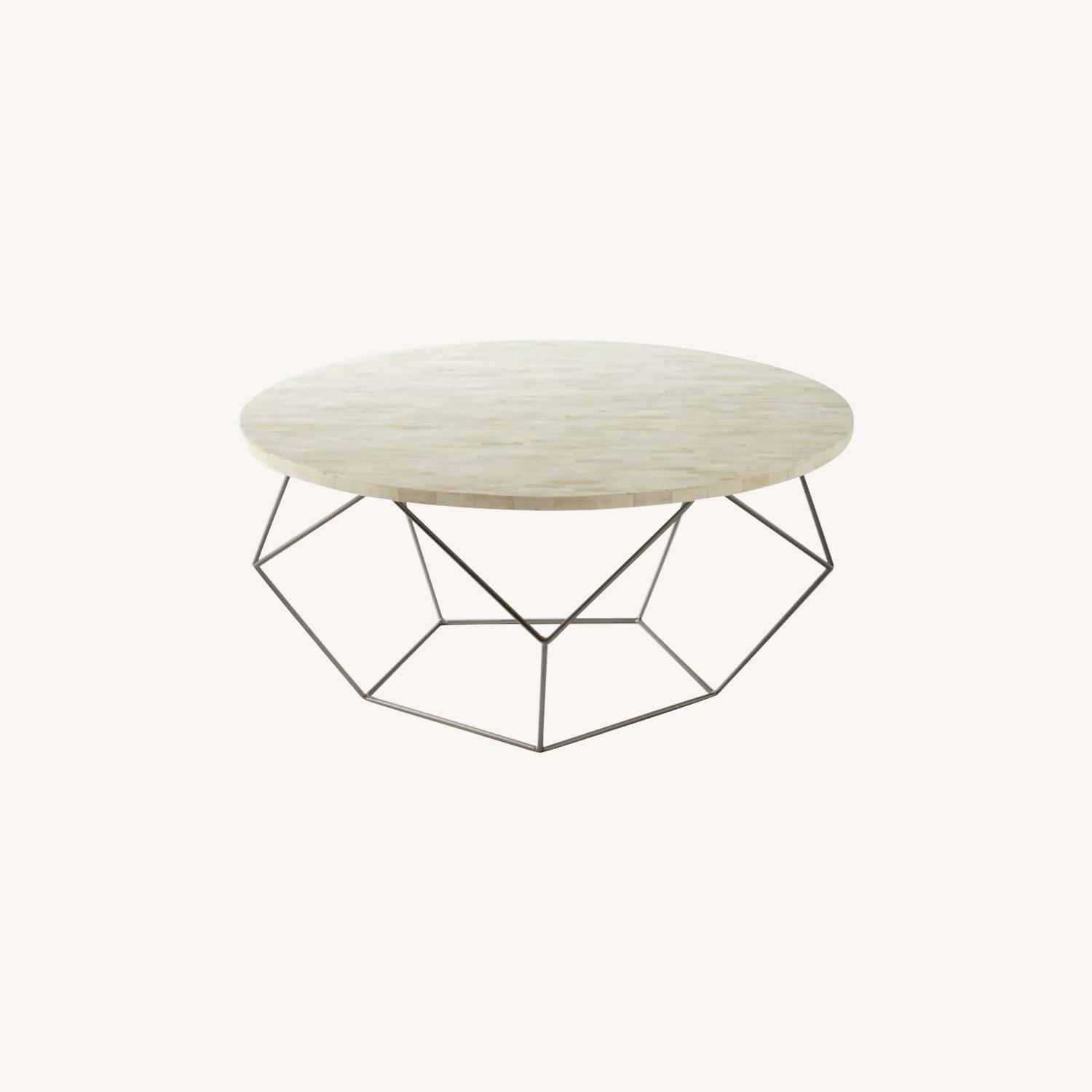 West Elm Origami Oversized Coffee Table - image-0