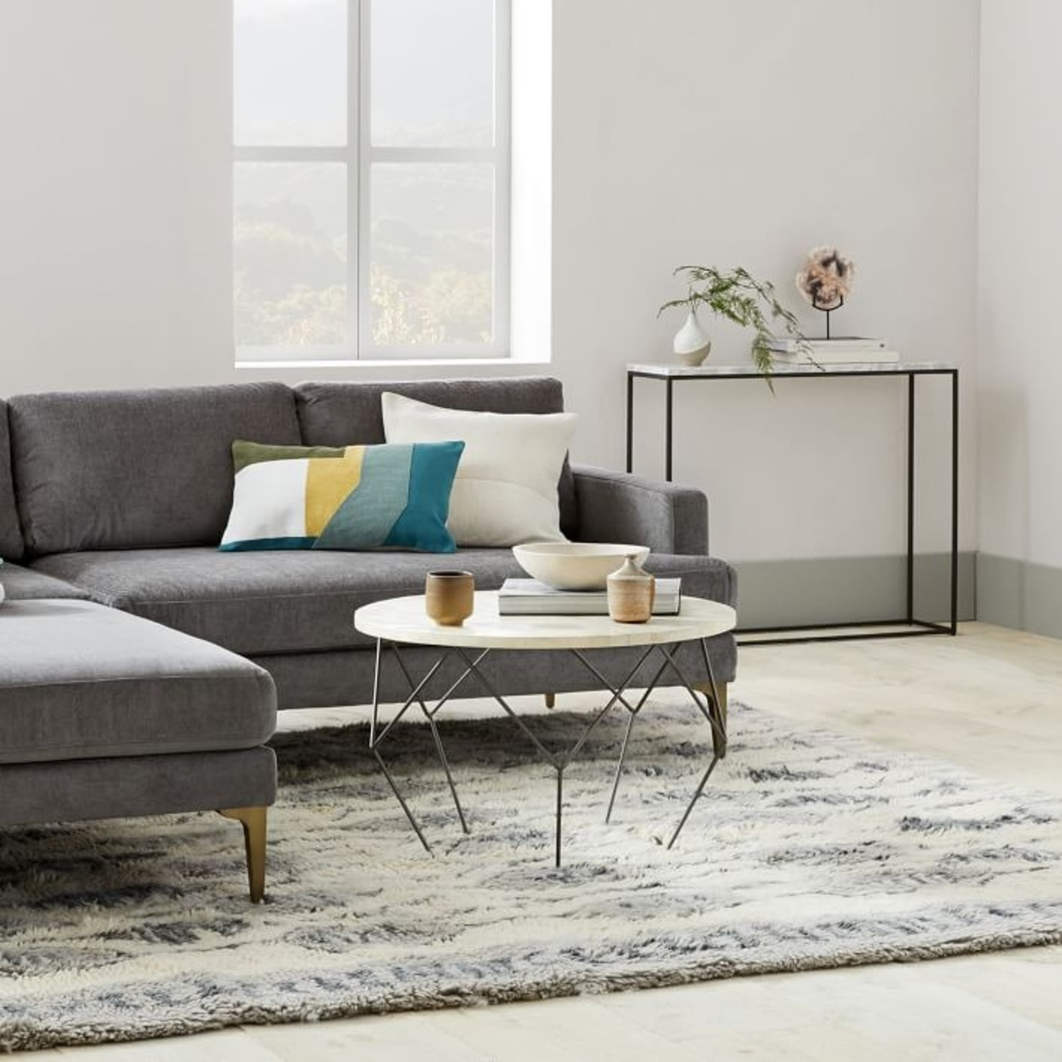 West Elm Origami Oversized Coffee Table - image-3