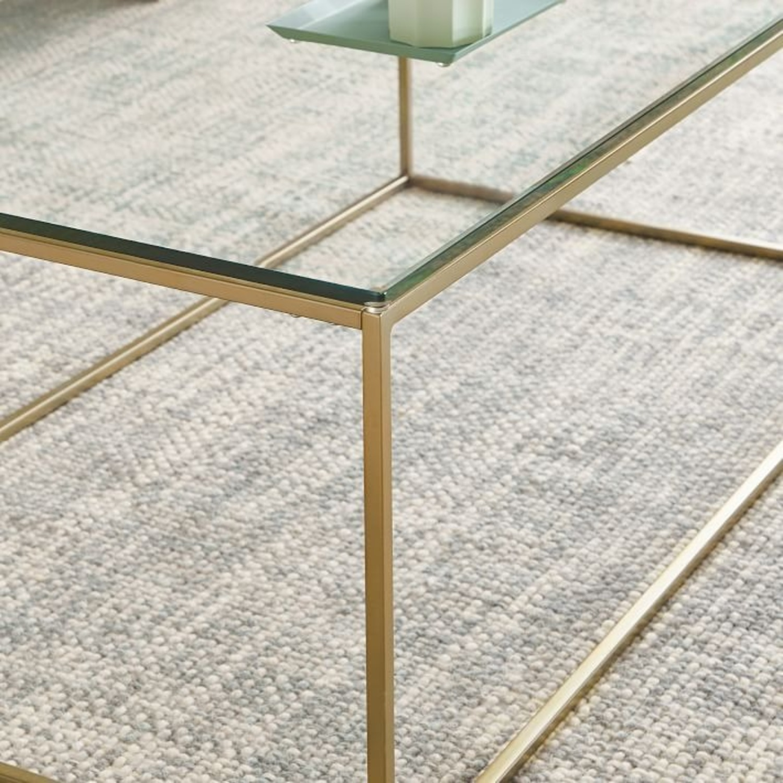West Elm Streamline Coffee Table - image-2