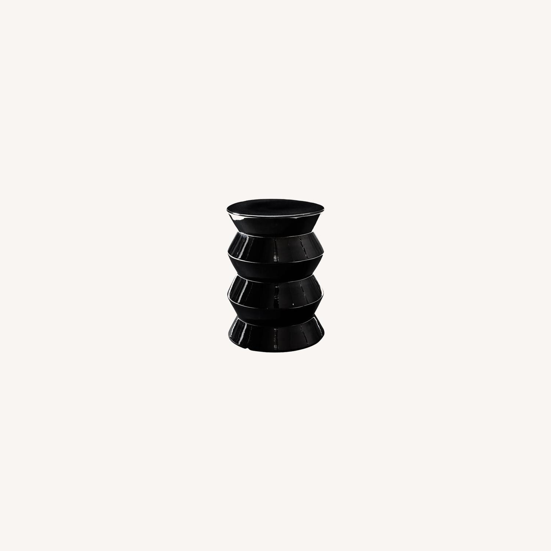 West Elm Cami Black Pearl Side Table - image-0