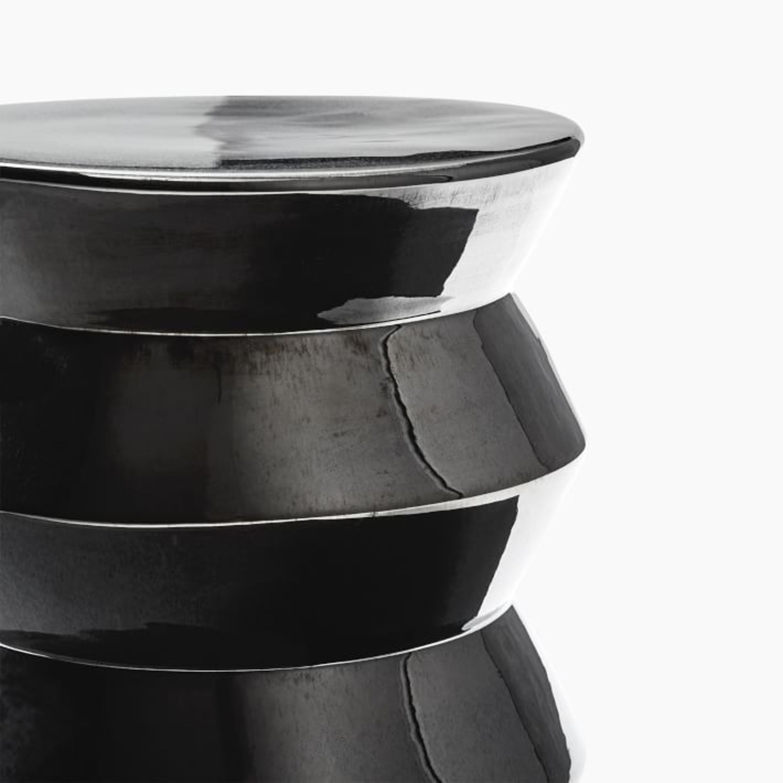 West Elm Cami Black Pearl Side Table - image-1