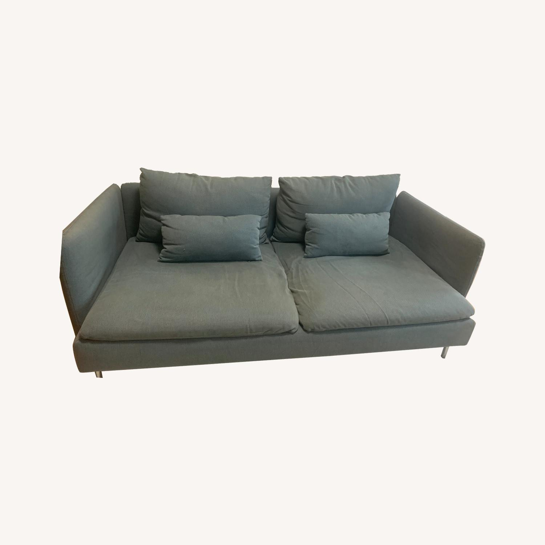 IKEA Turquoise Sderhamn Sofa - image-0