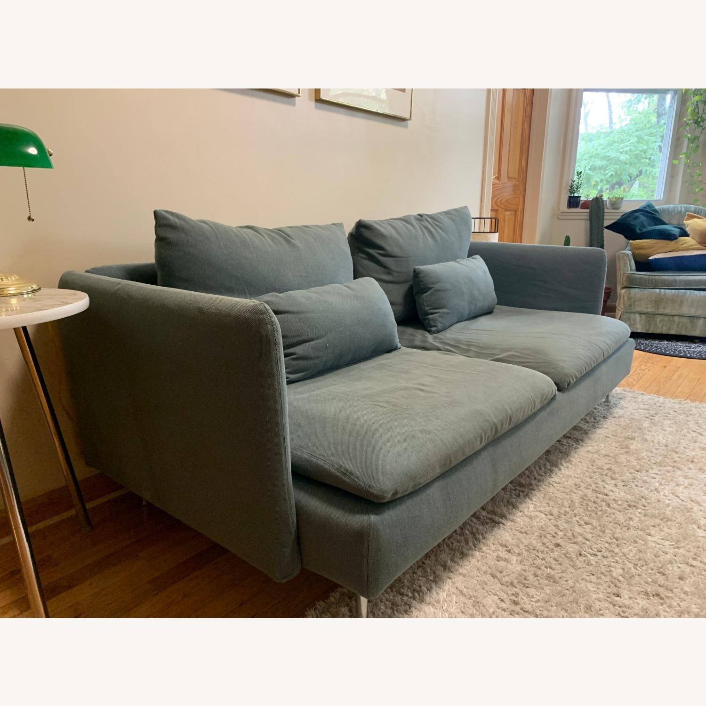 IKEA Turquoise Sderhamn Sofa - image-3