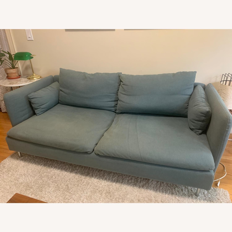 IKEA Turquoise Sderhamn Sofa - image-1