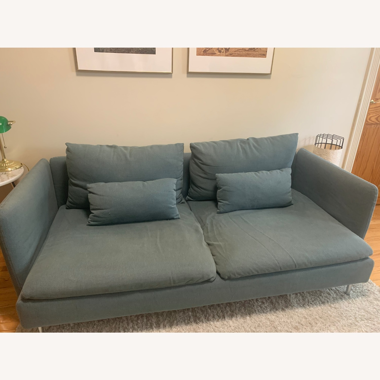 IKEA Turquoise Sderhamn Sofa - image-2