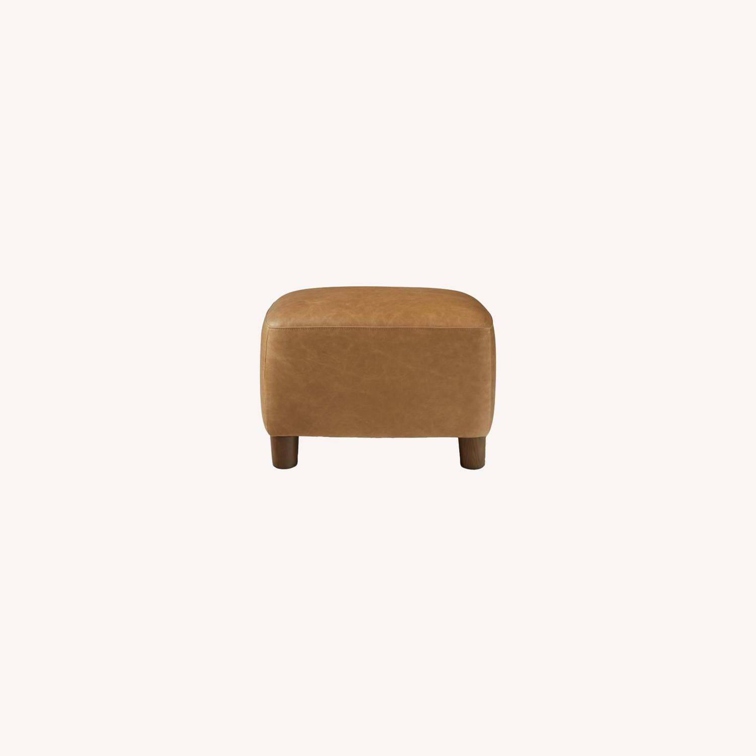West Elm Teddy Chair + Matching Ottoman - image-5
