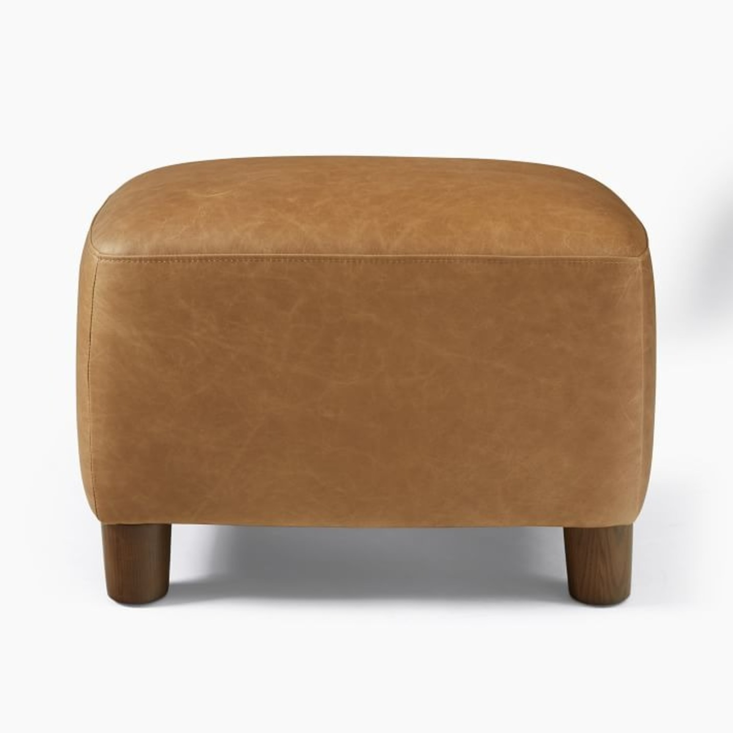 West Elm Teddy Chair + Matching Ottoman - image-2