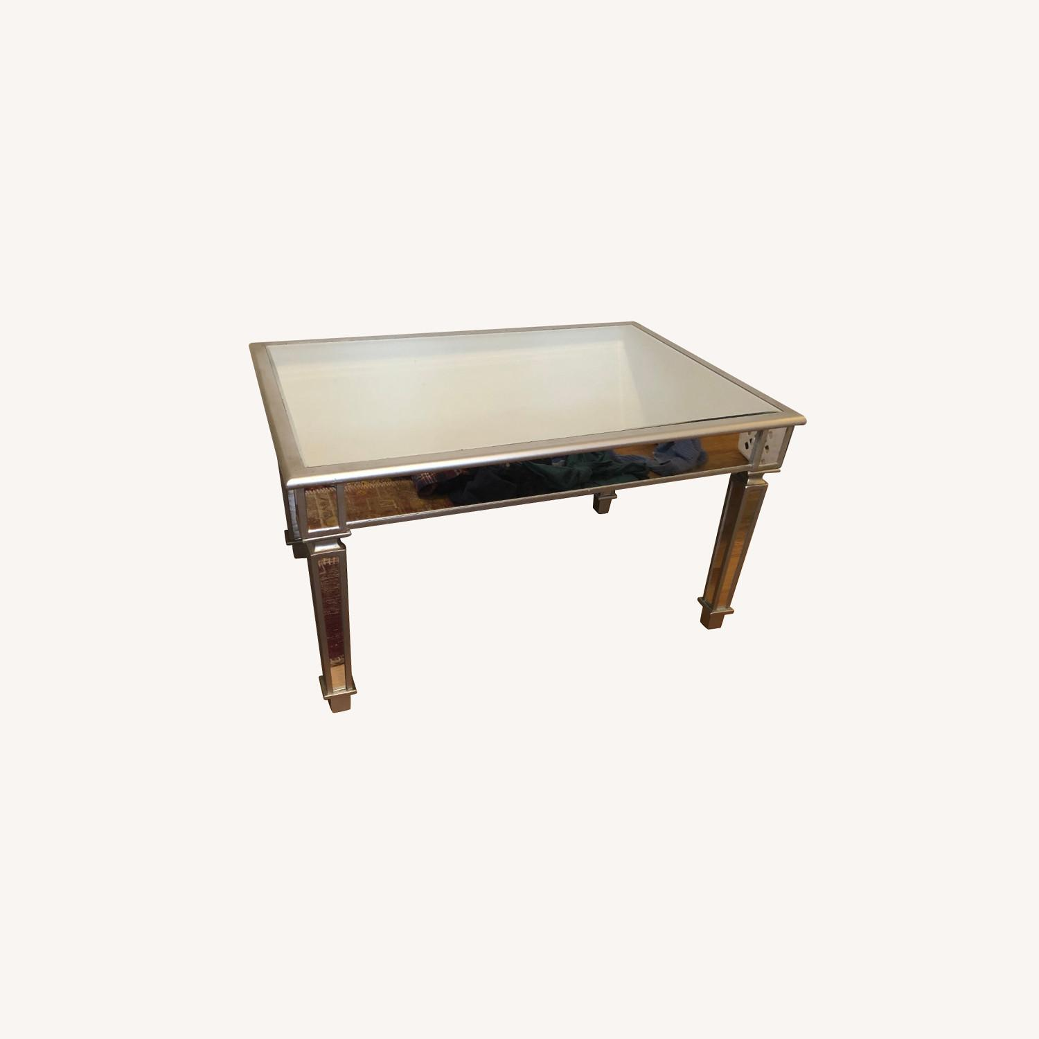 One Kings Lane Mirrored Coffee Table - image-0