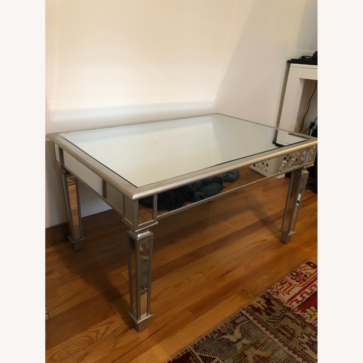 One Kings Lane Mirrored Coffee Table - image-2