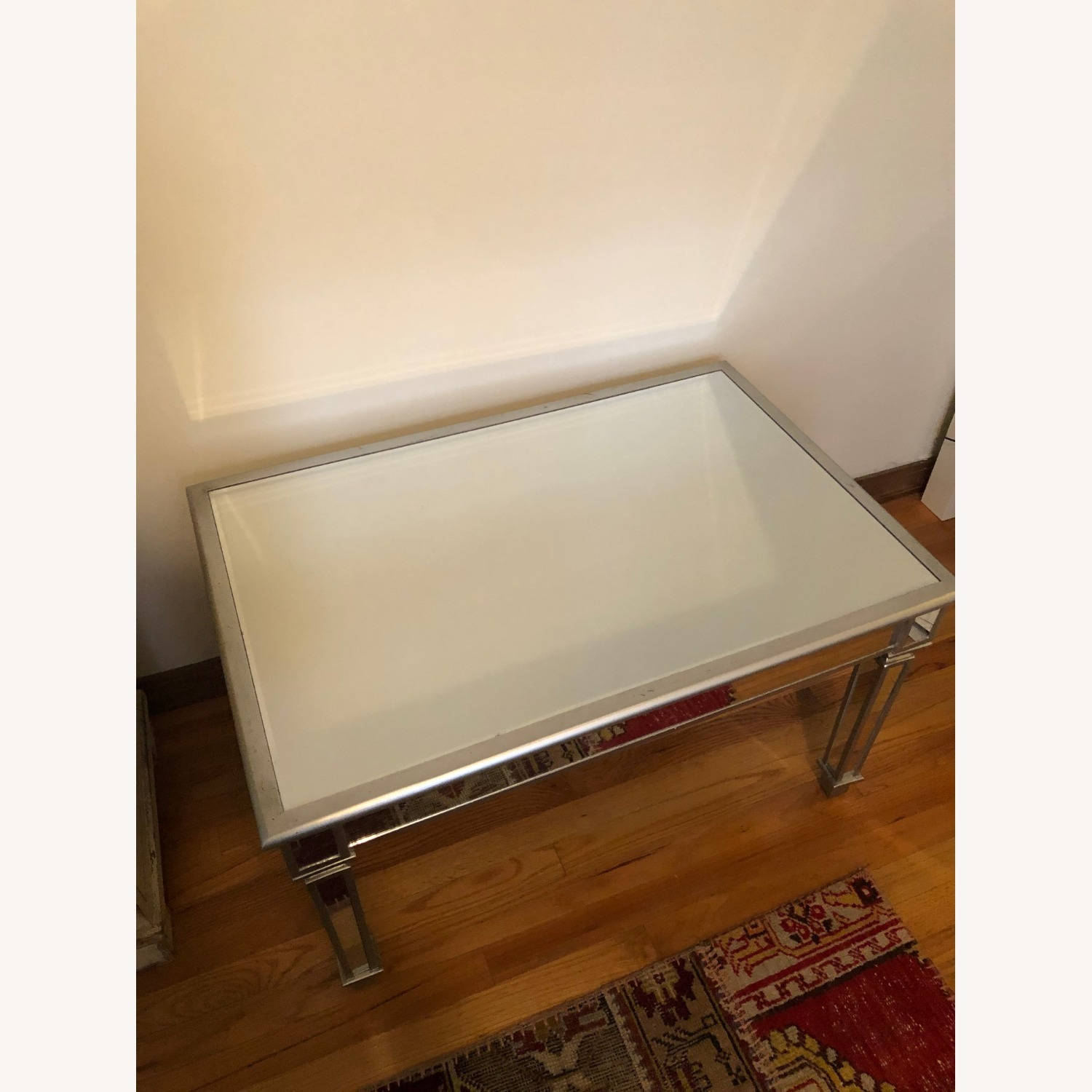One Kings Lane Mirrored Coffee Table - image-4