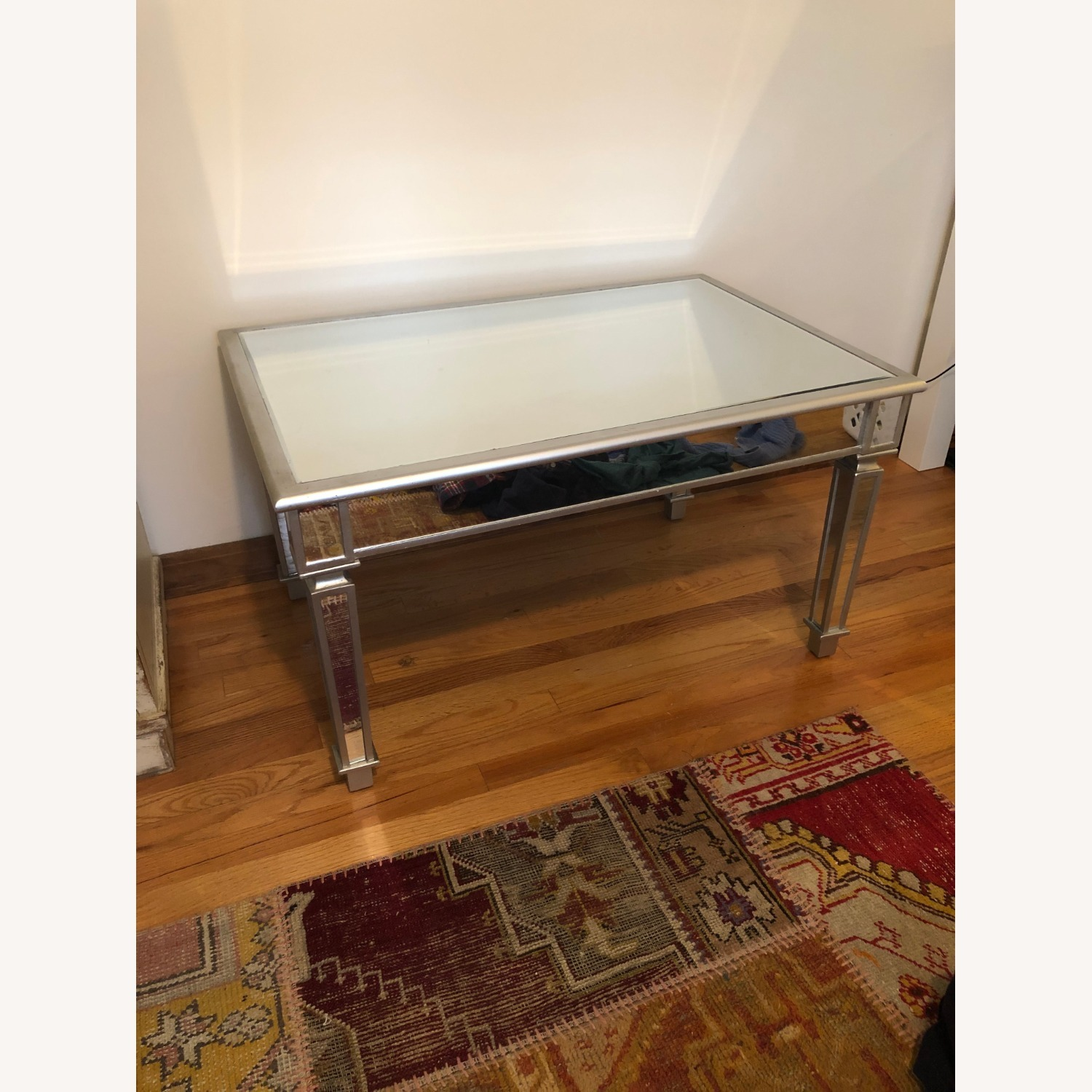 One Kings Lane Mirrored Coffee Table - image-3