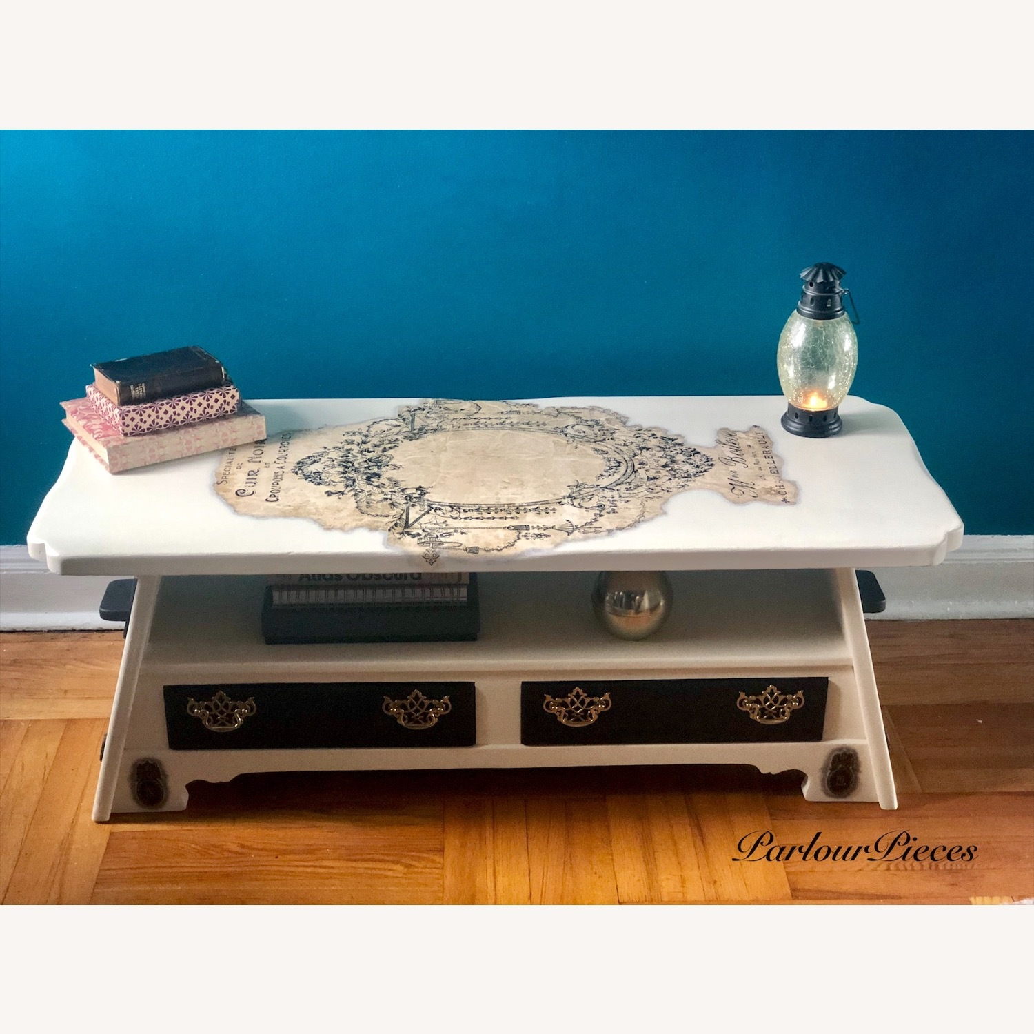 Refinished Coffee Table / Entryway Table - image-1