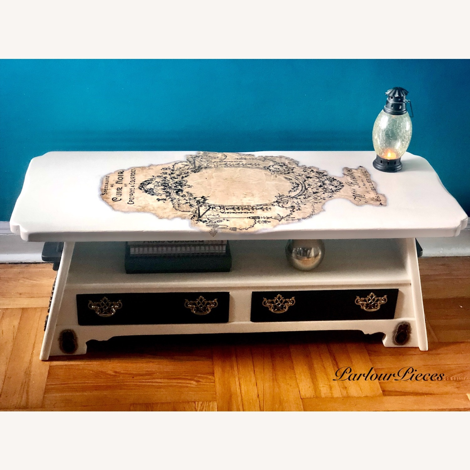 Refinished Coffee Table / Entryway Table - image-0
