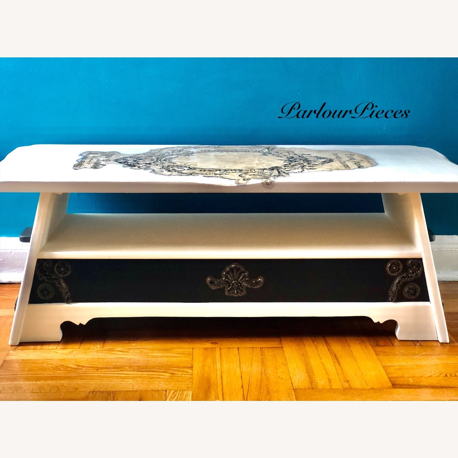 Refinished Coffee Table / Entryway Table - image-6