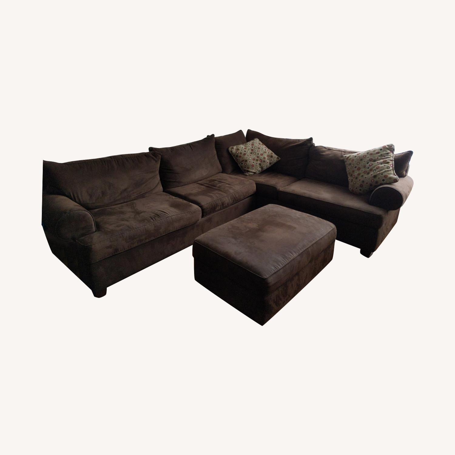 Raymour & Flanigan 2 Piece Sectional - image-0