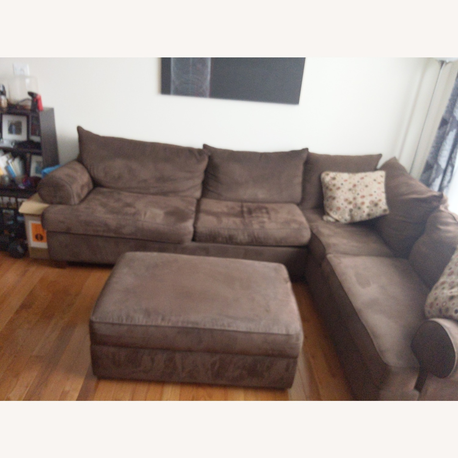Raymour & Flanigan 2 Piece Sectional - image-2