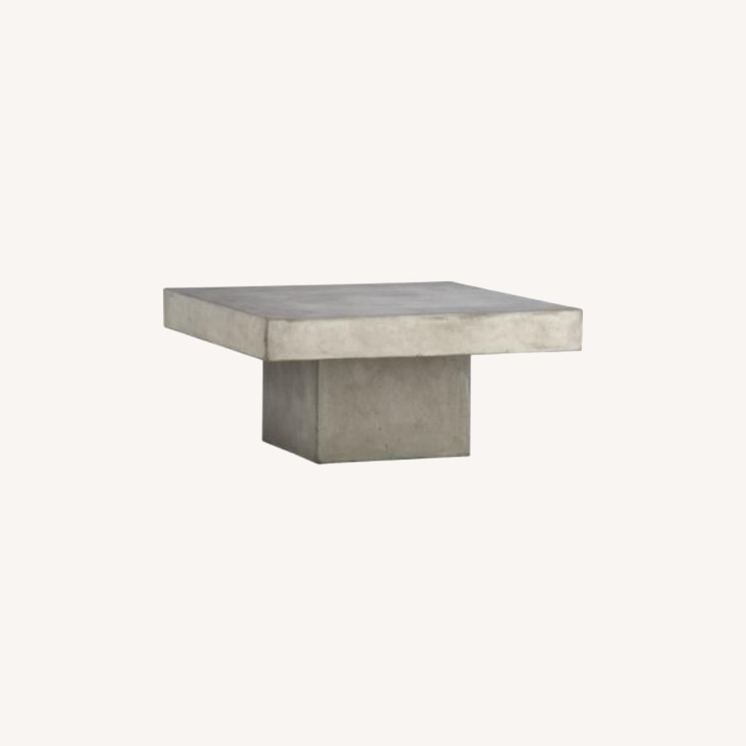 CB2 Cement Coffee Table - image-0