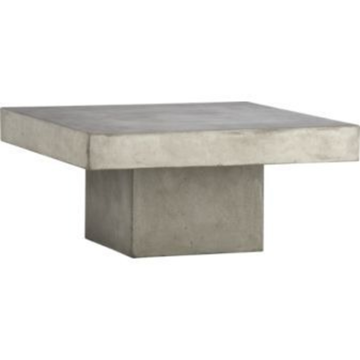 CB2 Cement Coffee Table - image-2